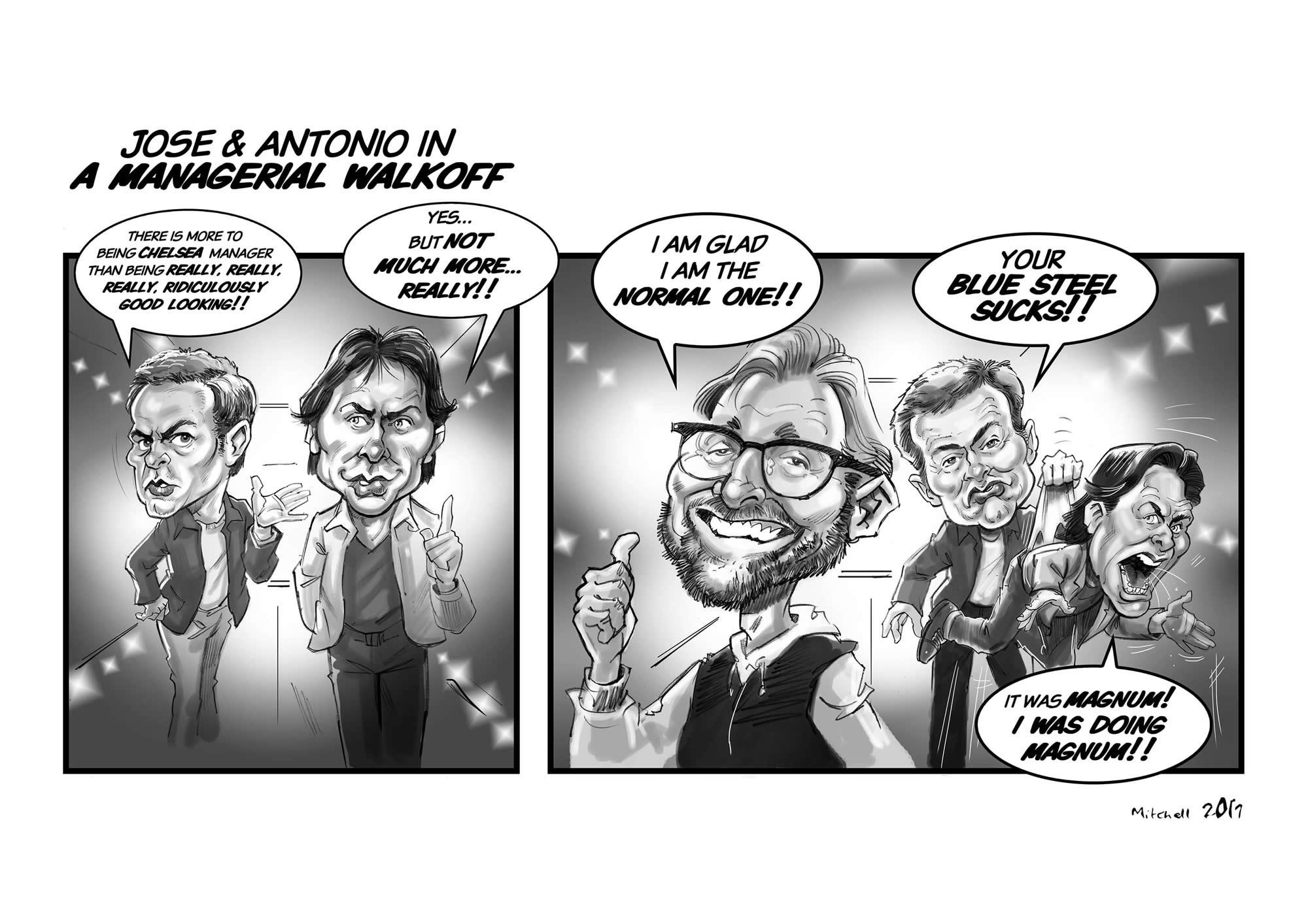 Chelsea Cartoon Strip