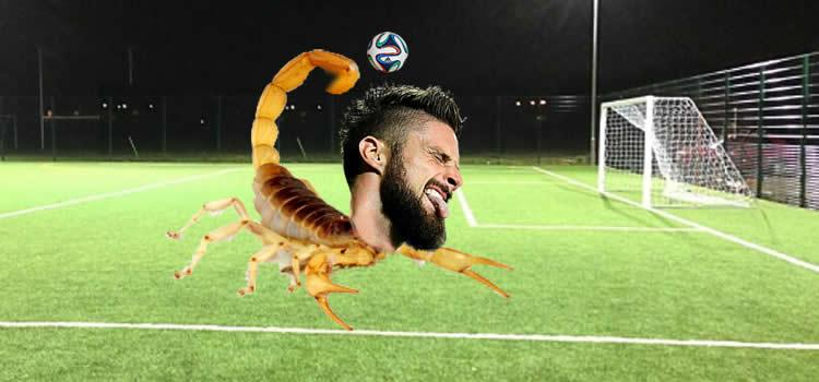 Olivier Giroud Scorpion Kick