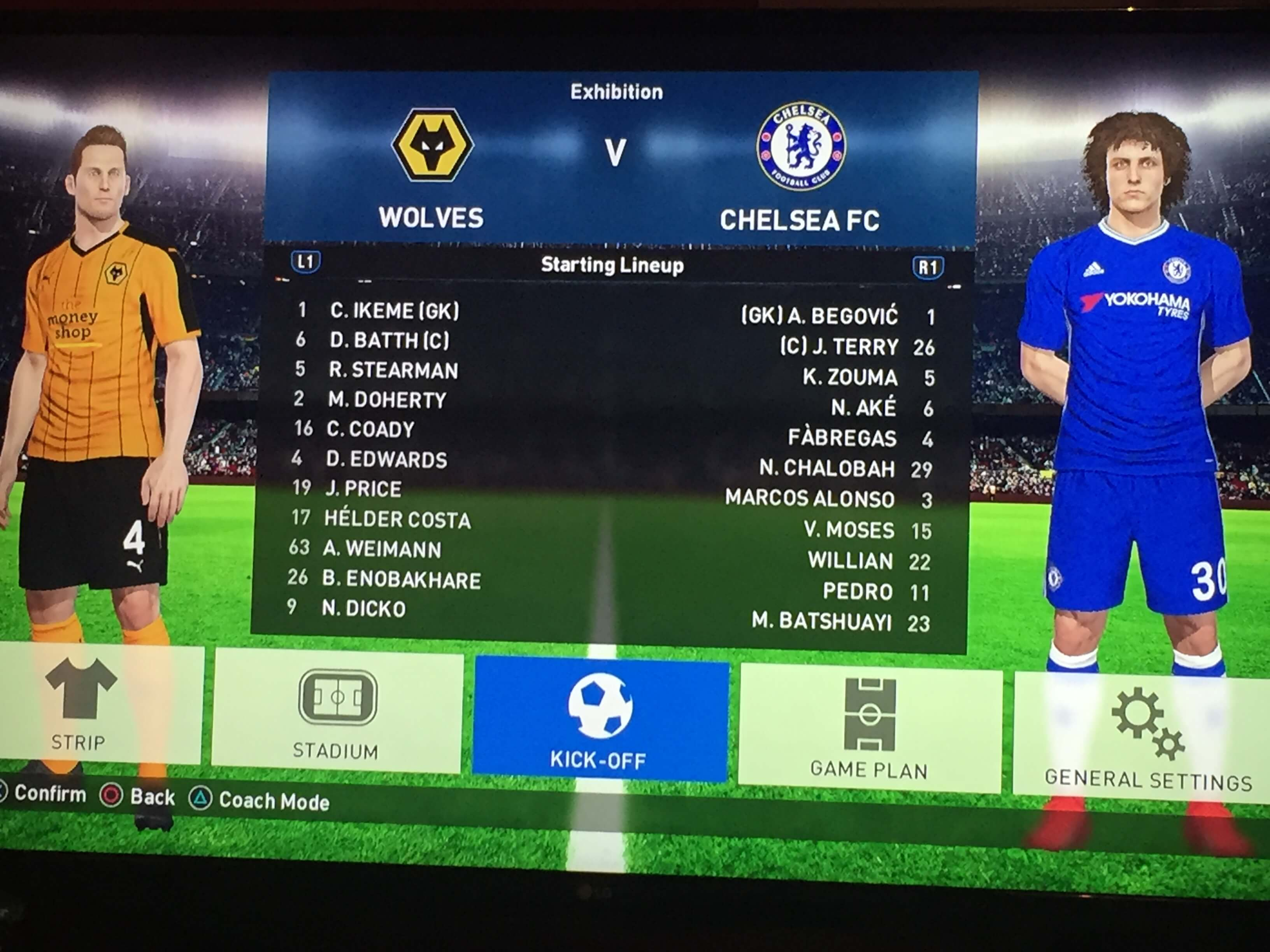 PES Predicts Wolves vs Chelsea (1)